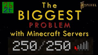The Biggest Problem with Minecraft Servers - Why 2b2t is Stuck on 1.12.2
