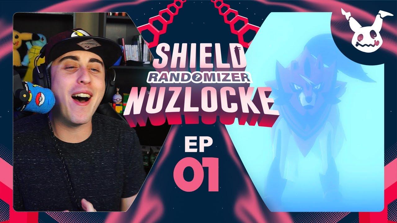 THE WEIRDEST LEGENDARY ENCOUNTER! | Pokemon Shield Randomizer Nuzlocke EP 01