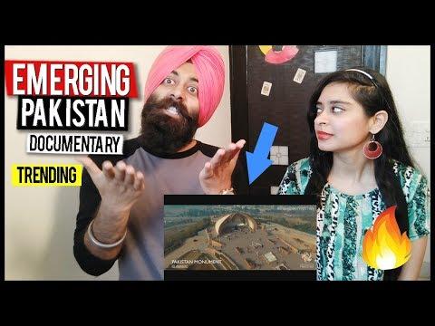 Indian Couple Reaction on Emerging Pakistan - Official Documentary | PunjabiReel TV