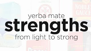 Weak to Strong: Exploring the Strengths of Yerba Mate Brands