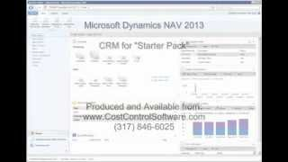 Microsoft Dynamics NAV 2013 - CRM Contacts and To-Do