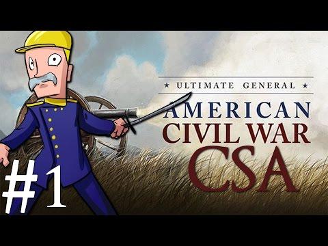 Ultimate General: Civil War | CSA | Part 1 | The Potomac Fort
