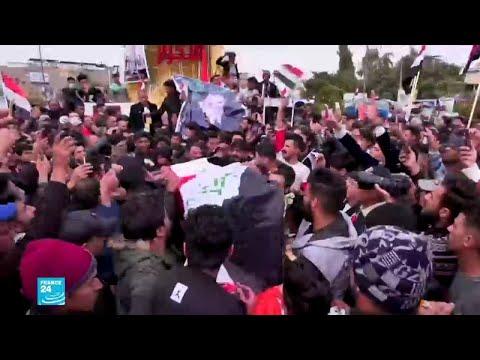 العراقيون يشيعون الناشط المدني البارز فاهم الطائي الذي اغتيل برصاص مجهولين  - نشر قبل 2 ساعة