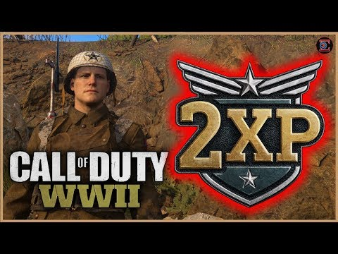 2XP | WORKING ON LAUNCHERS FOR CHROME CAMO in Call of DUty: WW2