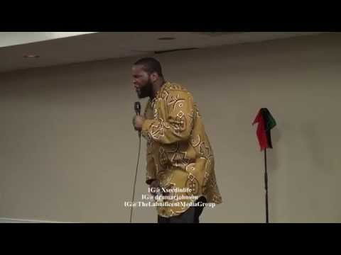 Dr. Umar Johnson confronted by LGBT Feminist during Xseed in Life program KC 2015