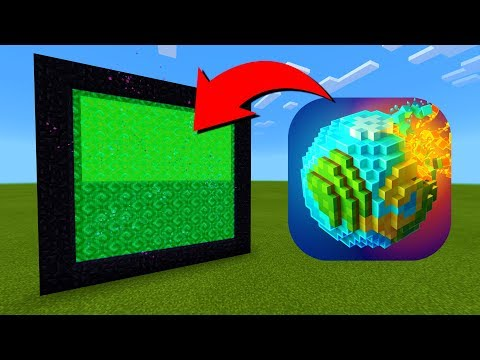 How To Make A Portal To The PlanetCraft Dimension in Minecraft! indir