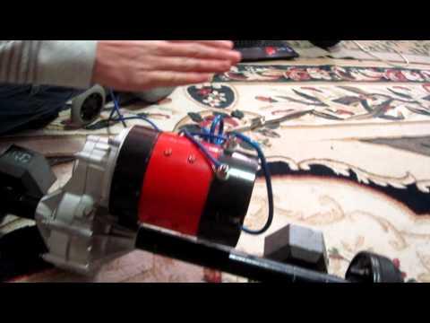 Victor 885 Motor Controller powering a golf cart motor