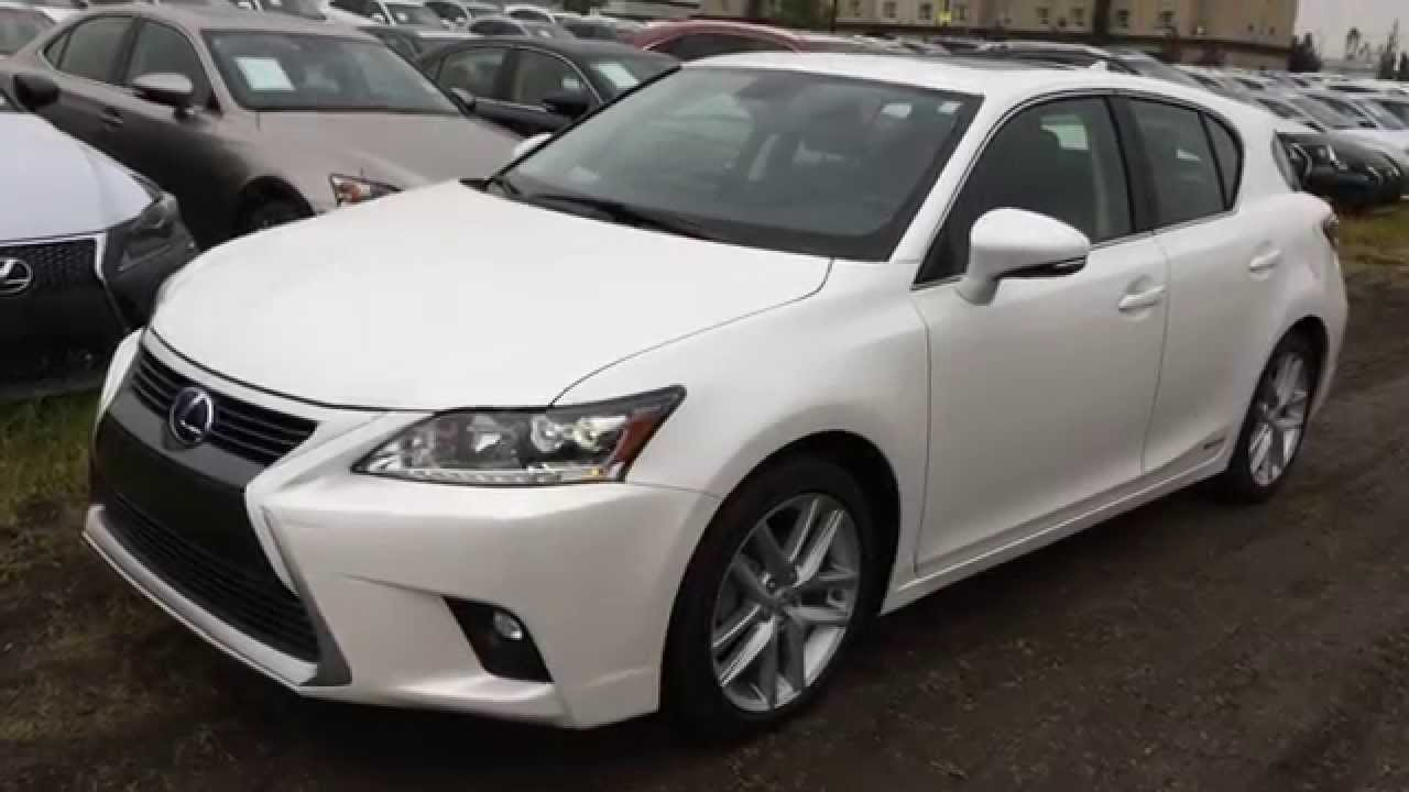 executive test drive white 2015 lexus ct 200h fwd hybrid premium package review downtown. Black Bedroom Furniture Sets. Home Design Ideas