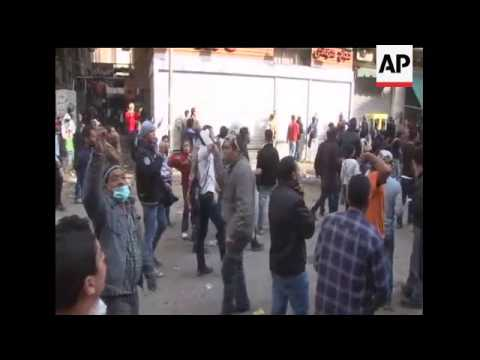 Dozens are dead as Egyptian army uses tear gas and rubber bullets to drive protesters from Cairo's T