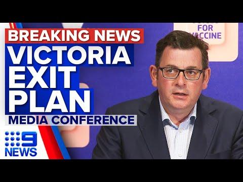 Victoria Premier announces path out of lockdown   Coronavirus   9 News Australia