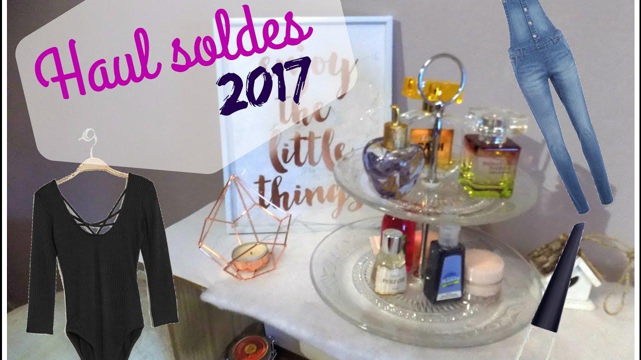 Haul soldes 2017 | Manteau à -90% ? Jennyfer, Cache Cache, Sephora ...