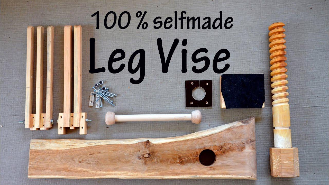 DIY Wooden Leg Vise, Workbench Part IV