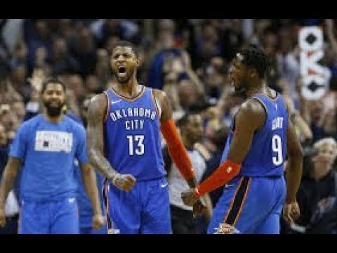 Oklahoma City Thunder vs Utah Jazz_NBA Highlights_(February 22nd 2019)