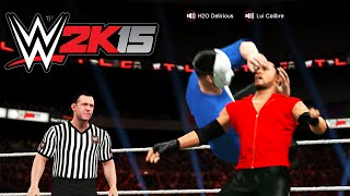 The Greatest Match of All Time! Lui vs Delirious (WWE 2K15)