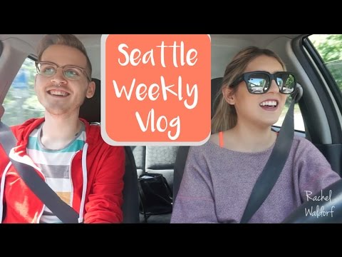 Seattle Weekly Vlog | Good Food | New Friend | Being all Over the Place