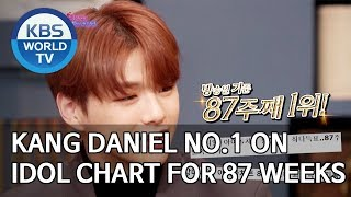 Kang Daniel No.1 on Idol Chart for 87 weeks [Happy Together/2019.12.12]