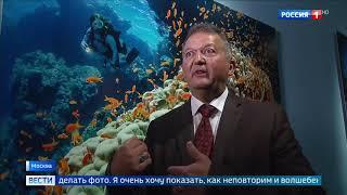Смотреть видео Гости из Монако уникальная выставка фоторабот Оливье Жуда открылась в Москве   Россия 24 онлайн