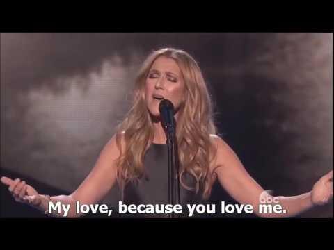 Celine Dion - HYMNE A L' AMOUR (English Subtitles) 2015