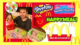 SHOPKINS R BACK IN MCDONALDS HAPPY MEALS &amp WE GOT KITTY KITCHEN SHOPKINS HAPPY PLACES HAPPY MEAL!!!