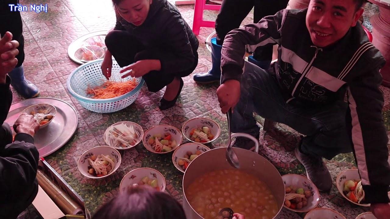 Quê tôi làm cỗ đám cưới toàn món ngon dân dã, Wedding party in the countryside of Vietnam