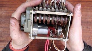 Гирлянда на механическом компьютере