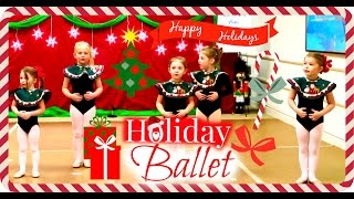 Holiday Ballet Dance Program || Living Windows || Christmas