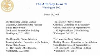 Mueller Report: No Collusion Or Obstruction Of Justice by Trump Admin Says AG Barr thumbnail