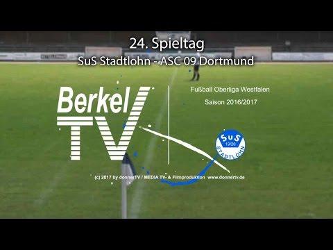 BERKEL TV 27.03.2017 = Oberliga Westfalen SuS Stadtlohn - ASC 09 Dortmund 5:1