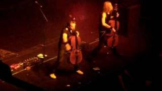 Apocalyptica - Master of Puppets - The Regency SF - September 9 2010
