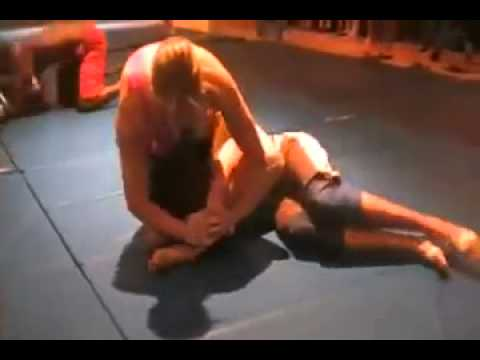 Boy wrestling girl Submissive