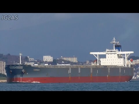 [巨大船] M/V KERKIS バラ積み船 Bulk carrier SAMOS SHIPPING 2017-FEB