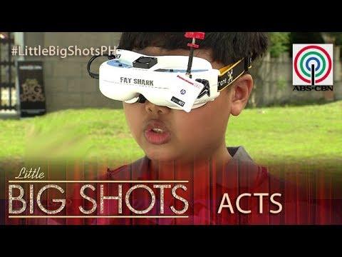 Little Big Shots Philippines: Basty   13-year-old Big Shot Drone Racer