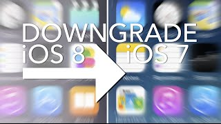HOW TO: Downgrade iOS 8 to iOS 7.1.2