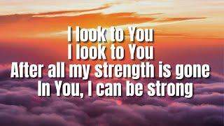 I Look To You | Whitney Houston