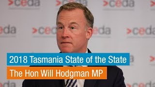 Will Hodgman | 2018 State Of The State Tasmania