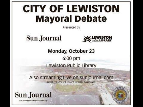 Lewiston Mayoral Debate