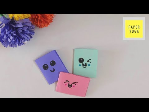 DIY Mini Diary | How To Make Mini Notebook From One Sheet Paper |Easy Paper Art