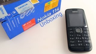 Nokia 114 Dual SIM Phone - Unboxing
