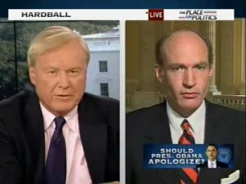 McCotter on Hardball with Chris Matthews on Resolution for Presidential Apology for Crowley Remarks