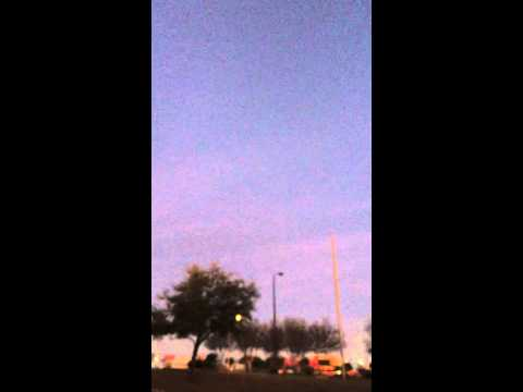 International Space Station flies over Round Rock, TX