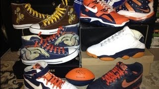 Nike Air Trainer SC High (NFL) Denver Broncos + Converse Chuck Taylor Denver Broncos Customs