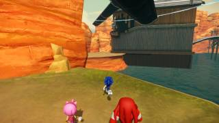 Sonic Boom: Rise of Lyric (Wii U) - Spin Dash Cancelling (Super Speed Exploit)