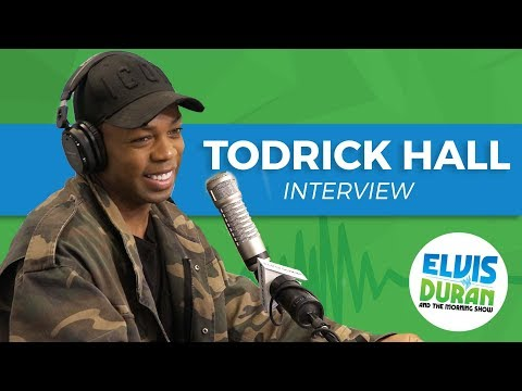 Todrick Hall on Hanging with Taylor Swift and 'Behind the Curtain' | Elvis Duran Show