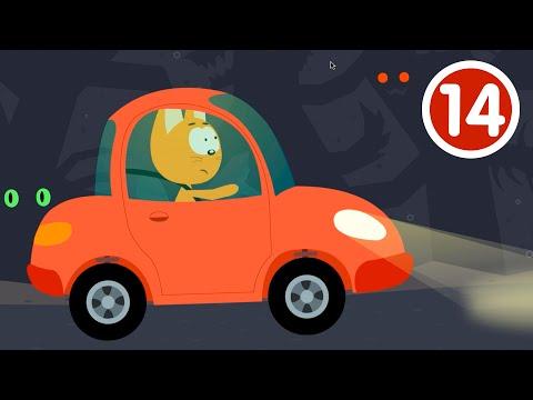 ПЕЩЕРА - Котёнок и волшебный гараж - Новый мультик про машинки