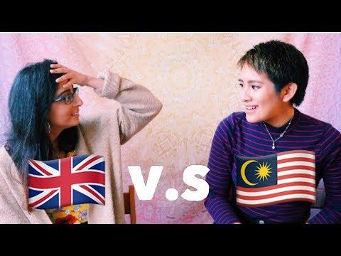 BRITISH SLANG VS MALAYSIAN SLANG CHALLENGE
