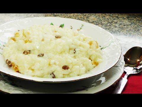 Каша рисовая молочная - пошаговый рецепт с фото на
