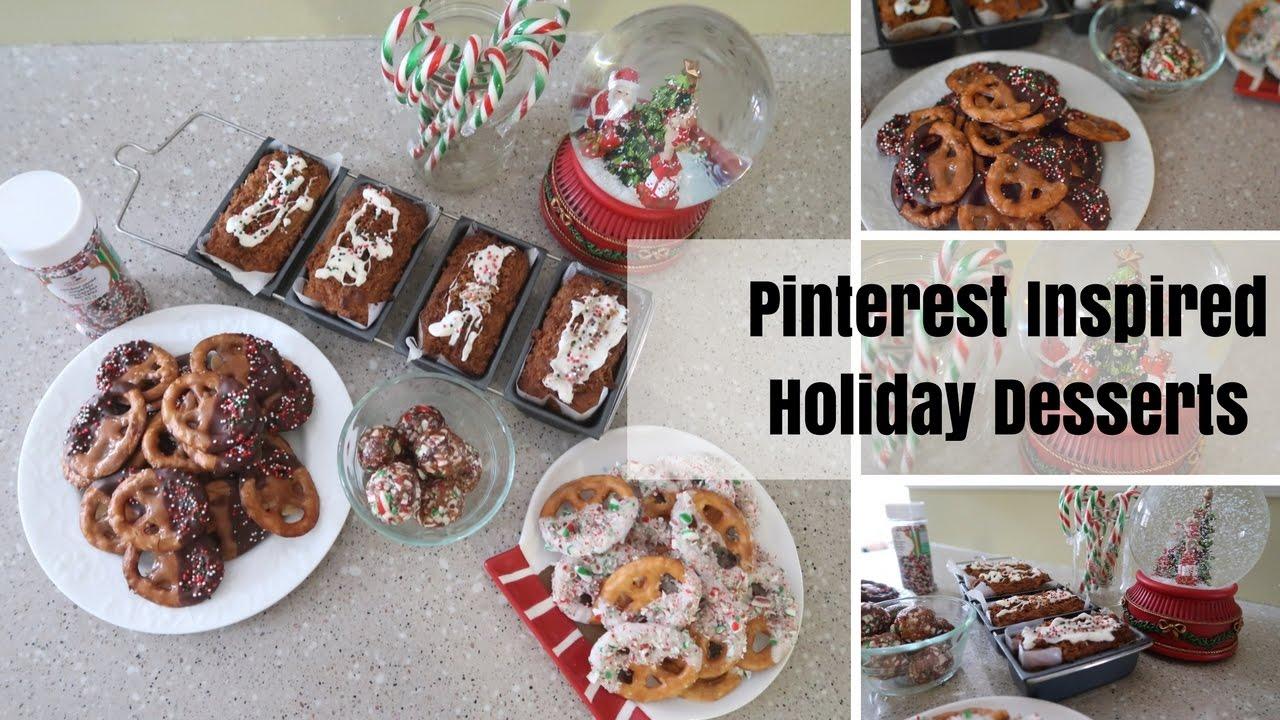 Christmas Desserts Pinterest.Diy Holiday Treats Pinterest Inspired Christmas Desserts Recipes