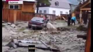 УЖАСНЫЕ КАДРЫ! Бурятия Селевой поток достигал 2 этажа  Есть пропавшие и погибшие  Аршан