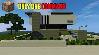 💯Minecraft:Easy ONE COMMAND house