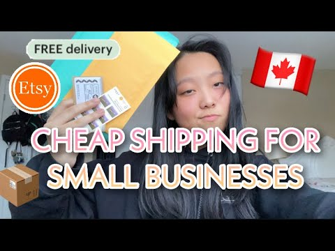 How to ship for cheaper and save money in Canada as a small business owner (Canada post)